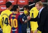 تغییر موضع کومان درباره مسی پس از پیروزی در لیگ قهرمانان