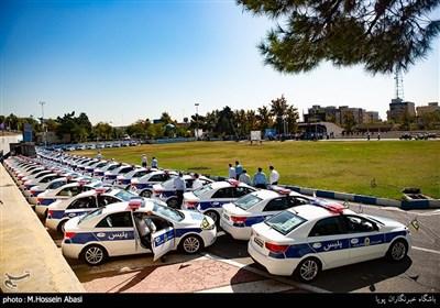 الحاق ۶۸۰ دستگاه خودرو و موتورسیکلت جدید به پلیس راهور + تصاویر