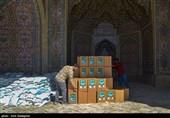 بسیج دانش آموزی خراسان رضوی 5000 بسته معیشتی بین نیازمندان توزیع میکند