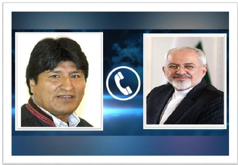 Zarif Congratulates Morales' Party on Bolivia Election Victory