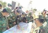 فرمانده نیروی زمینی ارتش از مرزهای ایران با ارمنستان و جمهوری آذربایجان بازدید کرد+تصاویر