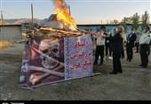 امحا مواد مخدر در کردستان از دریچه دوربین خبرنگار تسنیم