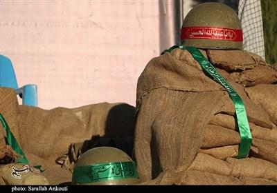یادواره شهدای محور حسینآباد سنندج از دریچه دوربین تسنیم + فیلم