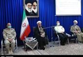 دیدار فرماندهان نظامی و انتظامی استان با نماینده ولیفقیه در کردستان به روایت تصویر