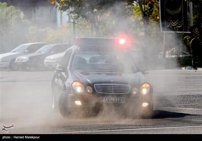 مسابقات اتومبیلرانی یگان ویژه ناجا