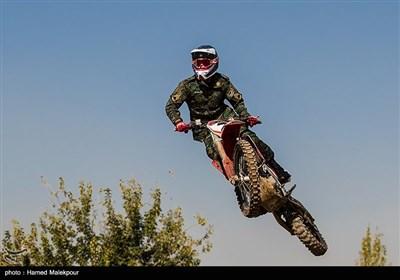 مسابقات موتورسواری یگان ویژه ناجا
