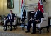 عراق|دیدار الکاظمی با جانسون در انگلیس