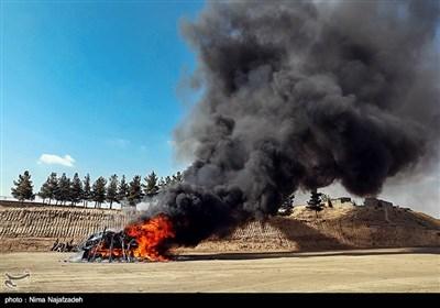 امحا 16 تن مواد مخدر در مشهد