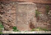 سقف یک خانه تاریخی در دزفول فرو ریخت