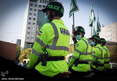 مشہد مقدس: گھڑسوار پولیس اہلکاروں کی شاندار پریڈ