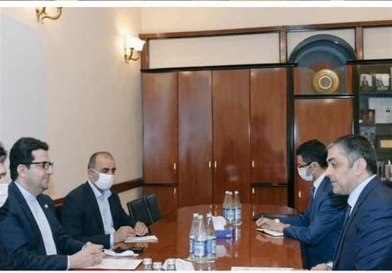 سفیر ایران با وزیر حمل و نقل، ارتباطات و فناوریهای نوین جمهوری آذربایجان دیدار کرد