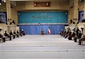بحضور الامام الخامنئی.. انعقاد اجتماع اللجنة الوطنیة لمکافحة کورونا +صور
