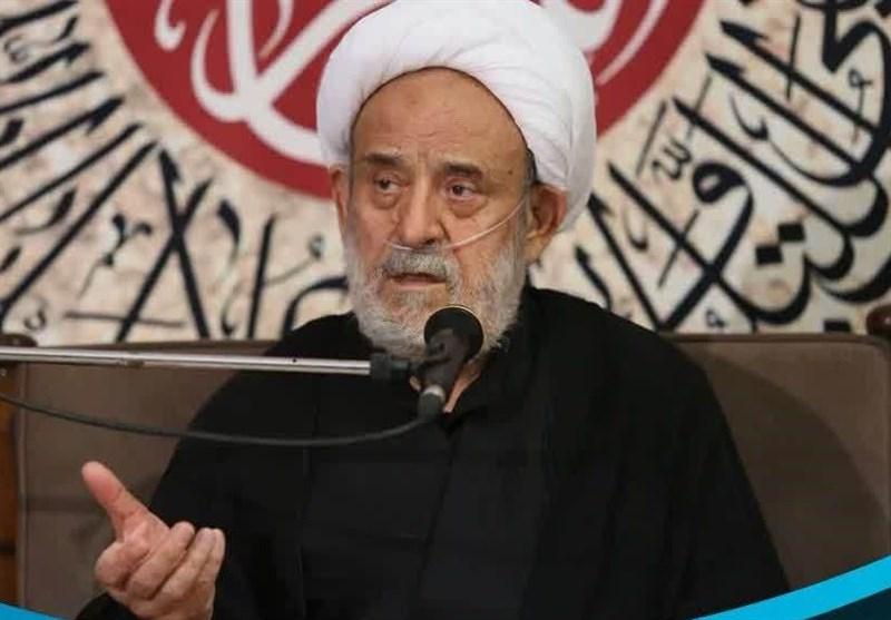 شیخ حسین انصاریان در عزای امام عسکری (ع) مجازی منبر میرود