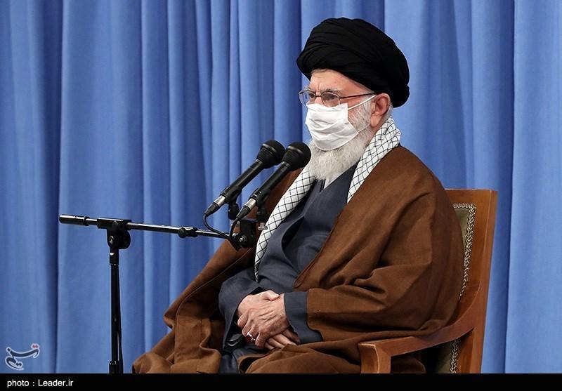 امام خامنهای: کار برخی افراد در هتک حرمت رئیسجمهور غلط بود/ تاکید بر حمایت از افراد بیکارشده بر اثر کرونا