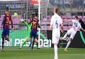تساوی رئال مادرید و بارسلونا در پایان نیمه نخست الکلاسیکو