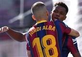 رکورد آنسو فاتی با گلزنی در روز شکست بارسلونا در الکلاسیکو