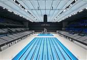 رونمایی از استخر المپیک 2020 توکیو با هفت ماه تأخیر