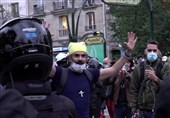 People Gather in Paris to Protest against COVID-19 Restrictions (+Video)