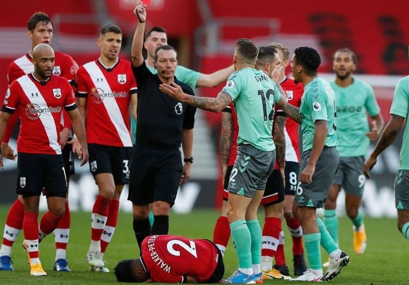 لیگ برتر انگلیس  ساوتهمپتون اولین شکست فصل را به اورتونِ آنچلوتی تحمیل کرد