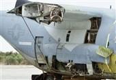 سقوط جنگنده اف-35 آمریکایی پس از برخورد به هواپیمای سوخترسان نظامی+فیلم