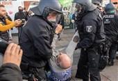 خشونت و هرج و مرج در اعتراضات ضد محدودیتهای کرونایی در برلین
