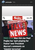Pogba Denies Retiring from French National Team