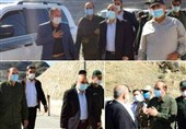 IRGC Chief Visits Iran's Borderline near Azeri-Armenian Clash Site