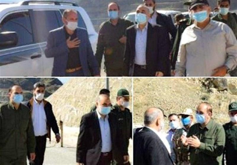 حضور فرمانده کل سپاه در مرزهای شمالغرب کشور/ دستور سرلشکر سلامی برای تأمین امنیت مناطق مرزی + فیلم