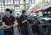 کاهش ارزبری 138 میلیون یورویی تولید در گروه صنعتی ایران خودرو