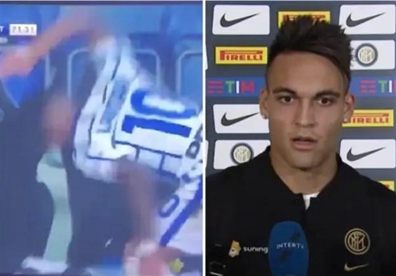 لائوتارو: بارسلونا؟ الان بازیکن اینتر هستم اما فردا را نمیدانم/ مشتهایم به نیمکت به خاطر عصبانیت از خودم بود