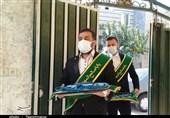 خادمان مسجد جمکران در بیمارستان شهدای پاکدشت حضور یافتند + تصویر