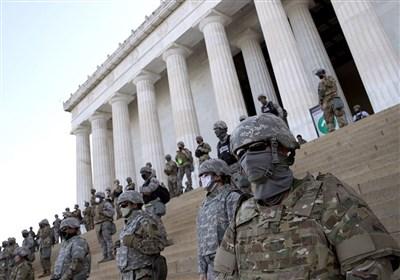تشدید تدابیر امنیتی در واشنگتن در آستانه مراسم تحلیف بایدن+فیلم