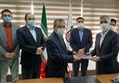 تفاهم نامه فروش 90 هزار تن ریل ذوب آهن اصفهان امضا شد
