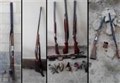 دستگیری شکارچیان غیرمجاز در جنوب تهران