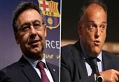 جنجالآفرینی رئیس مستعفی باشگاه بارسلونا در آخرین نشست خبریاش و واکنش تند رئیس لالیگا