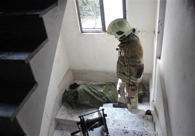 کشف جسد سوخته مرد میانسال از خانه شعلهور + تصاویر