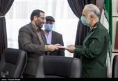 صحرائیان رئیس بسیج رسانه استان کرمانشاه شد + تصویر