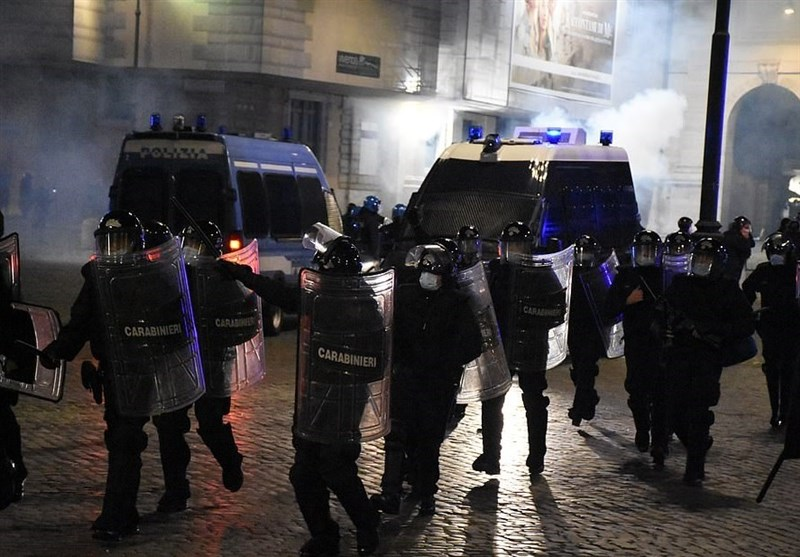 Lockdown Shockwaves Rock Europe As Protesters Bring Violence to Streets