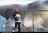 وقوع آتشسوزی در کارخانه سیمان شهرکرد/ حریق مهار شد/ حادثه مصدوم نداشت