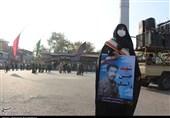پیکر مطهر شهید ارتش در ساری تشییع شد + تصاویر