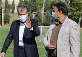 حضور خلیلزاده در اردوی استقلال+عکس