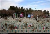 گلستان شهدای اصفهان به روایت تصویر