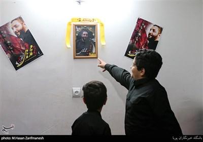 دیدار سردار نقدی با خانواده شهید محمدی