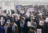 """طنین شعار """"مرگ بر فرانسه"""" در تظاهرات مردم افغانستان"""