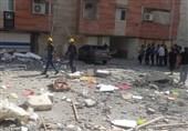 نشت گاز باز هم حادثه آفرید / انفجار منزل مسکونی در قائمشهر / ساختمان کاملا تخریب شد + فیلم