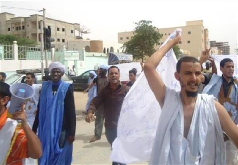 مردم موریتانی خواستار بسته شدن سفارت فرانسه و اخراج سفیر فرانسوی شدند