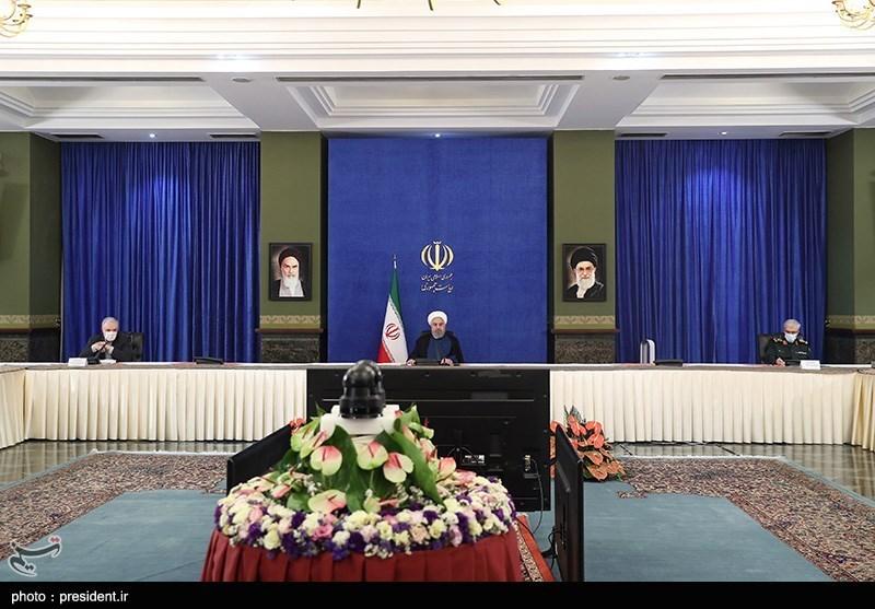 روحانی: ظروف الانتاج والصادرات والعلاقات الخارجیة فی طریقها نحو التحسن