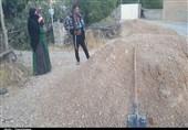 یاسوج| نارضایتی مردم اهالی روستای محمد آباد کبگیان از اجرای نیمه کاره طرح هادی روستا