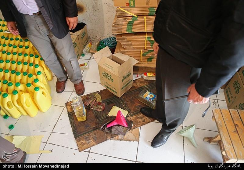 تهران| 16 هزار قوطی انواع روغن خوراکی احتکاری در ری کشف شد