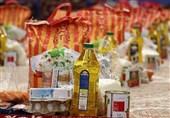 2 هزار بسته معیشتی در شهر جدید صدرا توزیع شد